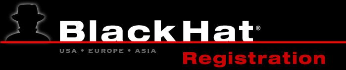 Black Hat Registration