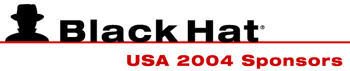 Black Hat USA 2004 Sponsors