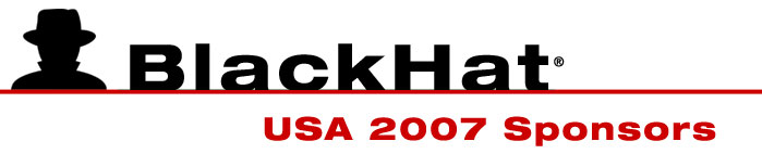 Black Hat USA 2006 Sponsors