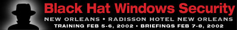Black Hat Windows 2002